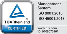 August 13, 2018 ISO9001: 2015 acquisition